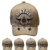 24 Units of NATIVE CAP - Baseball Caps & Snap Backs