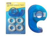 96 Units of 5 Piece Tape Stationery - Tape