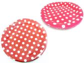96 Units of 10 Piece Polka Dot Plates - Dinnerware > Plates