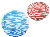 96 Units of 10 Piece Zebra Printed Plates - Dinnerware > Plates