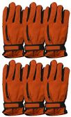 6 Pairs Value Pack of excell Mens Ski Gloves, Hunter Gloves - Ski Gloves