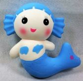 12 Units of Slow Rising Squishy Toy Large Mermaid - Slime & Squishees