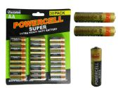 24 Units of 30 Pc AA Batteries - Batteries