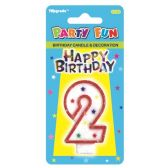 96 Units of B'day candle #2 - Birthday Candles