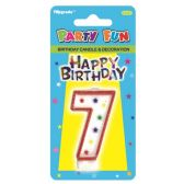 96 Units of B'day candle #7 - Birthday Candles