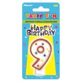 96 Units of B'day candle #9 - Birthday Candles