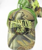 "36 Units of ""Arizona"" Kids Camo Cap Assorted Colors - Kids Baseball Caps"