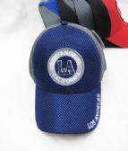 "36 Units of ""Los Angeles"" Base ball Cap With LA Coin Shaped Logo - Baseball Caps & Snap Backs"