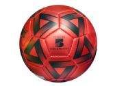 6 Units of Size 5 Metallic Red & Black Soccer Ball - Balls