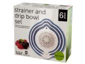 12 Units of Strainer & Drip Bowl Set - Strainer/Funnel