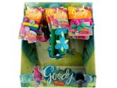 72 Units of Goody Girls Trolls Hair Elastics & Headwraps Countertop Display - Hair Accessories