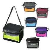 24 Units of Wholesale Insulated 6 Can Cooler Lunch Bag - Lunch Bags & Accessories