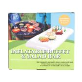 12 Units of Inflatable Salad Bar Buffet 51x22x5in Color Boxed Food Grade Pvc - BBQ supplies