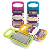 48 Units of 7x3.5in Handheld Grater W/storage Cup - Kitchen > Accessories