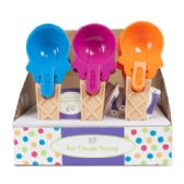 30 Units of 30 Pack Ice Cream Cone Shaped Scoop - Kitchen > Accessories