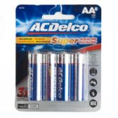 48 Units of 8pk Alkaline AA Batteries Ac Delco Carded - Batteries