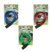 48 Units of Bicycle Lock W. 2 Keys - Biking