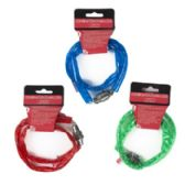 36 Units of 22in Vinyl Coated Chain Cable Lock - Biking