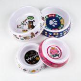 72 Units of 7in Melamine Pet Bowl - Pet Accessories