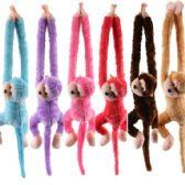 48 Units of Plush Monkey with Sound Effects