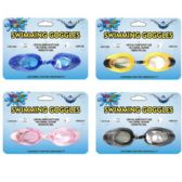 24 Units of Water World Swimming Goggles - Summer Toys