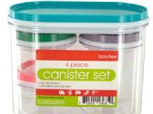 18 Units of Multi-Purpose Nesting Canister Set - STORAGE HOLDERS/ORGANIZERS