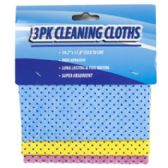 48 Units of 3 Pack Cleaning Cloth - AUTO CLEANING SUPPLIES