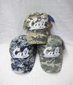 "24 Units of ""Cali"" Camo Ball Cap - Baseball Caps & Snap Backs"