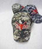 "36 Units of ""Texas""Printed Logo Cap - Baseball Caps & Snap Backs"