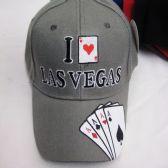 "36 Units of ""Las Vegas"" Card Logo Baseball Cap - Baseball Caps & Snap Backs"