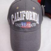 "36 Units of ""California"" Base Ball Cap - Baseball Caps & Snap Backs"