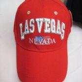 """36 Units of """"Las Vegas"""" Base Ball Cap - Baseball Caps & Snap Backs"""