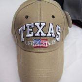 """36 Units of """"Texas"""" Base Ball Cap - Baseball Caps & Snap Backs"""