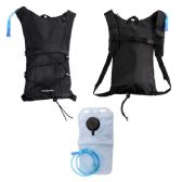"24 Units of 17"" Black Hydration Backpack - Backpacks 17"""