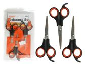 96 Units of 3 PC Scissors - Scissors
