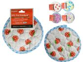 144 Units of 3PC Hot Pad, Trivet, Pot Holder - Coasters & Trivets