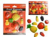 96 Units of 10 PC Fruit Magnets - Refrigerator Magnets