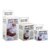 48 Units of Gauze Bandage Assorted Size - First Aid and Bandages