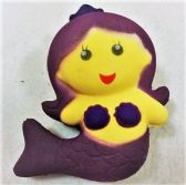 36 Units of Slow Rising Squishy Toy *Purple Mermaid - Slime & Squishees