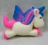 36 Units of Slow Rising Squishy Toy *Unicorn/Blue & Pink Mane - Slime & Squishees