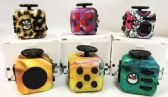 36 Units of Wholesale Graphic Assorted Fidget Cubes - Fidget Spinners