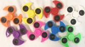 48 Units of Wholesale Fan Paddle Design Fidget Spinners Assorted