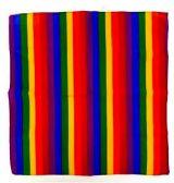 84 Units of Wholesale Rainbow Bandana - Bandanas