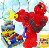 48 Units of Friction Powered Robot Bubble Guns