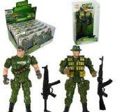 144 Units of 2 Piece Peace Soldiers - Action Figures & Robots