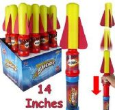 "48 Units of 14"" Air Rocket Shooters - Magic & Joke Toys"