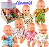 6 Units of Talking Bothyssin Baby Dolls - Dolls