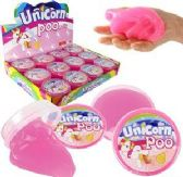 72 Units of Unicorn Poo Putty Slimes - Slime & Squishees