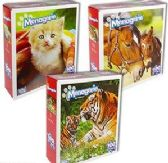 36 Units of Menagerie Animal Jigsaw Puzzles - Puzzles