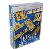 8 Units of Cardinal 7 Piece Wood Teasers Puzzles - PUZZLES